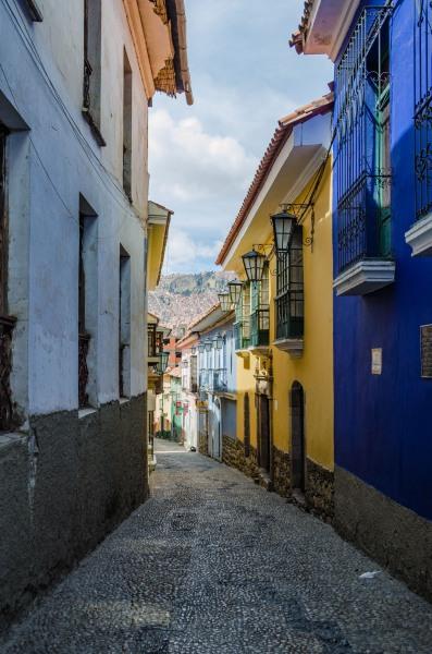 Bolivia - Jean Street in La Paz