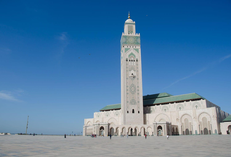 image of Hassan Mosque in Casablanca