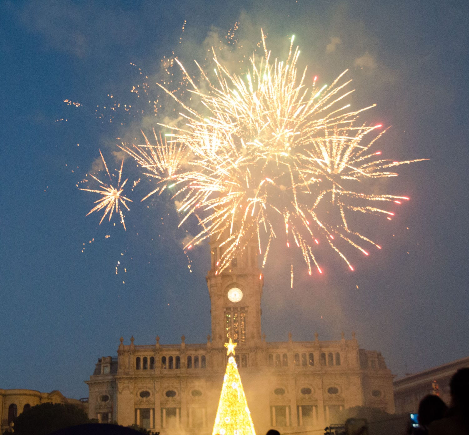 Porto, Christmas, photography, fireworks