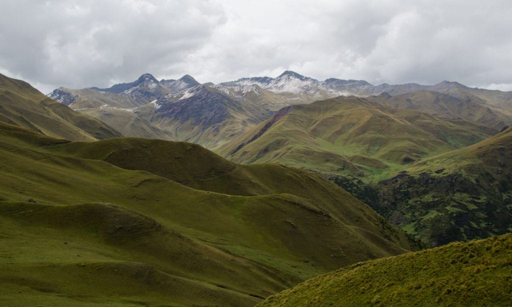 image of the Andes Mountains