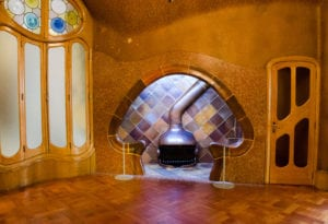 Festerdor used for courting inside Casa Batllo