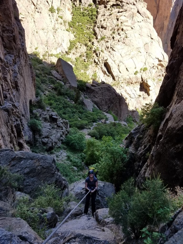 Backpacking in the Black Canyon
