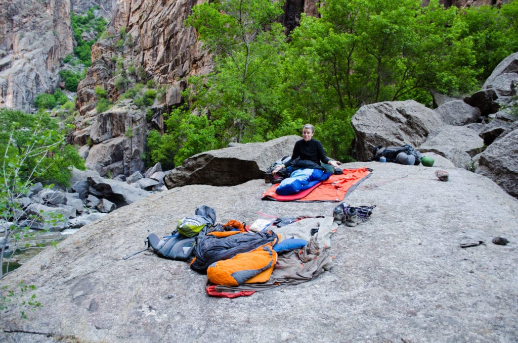 Backpacking in the Black Canyon of the Gunnison National Park