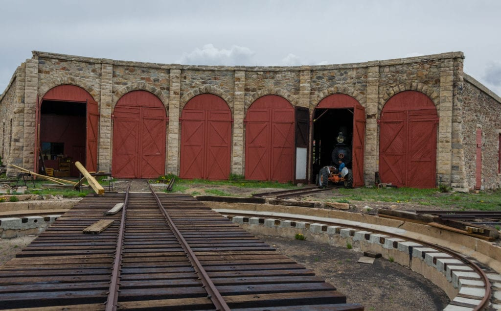 image of the Como Roundhouse