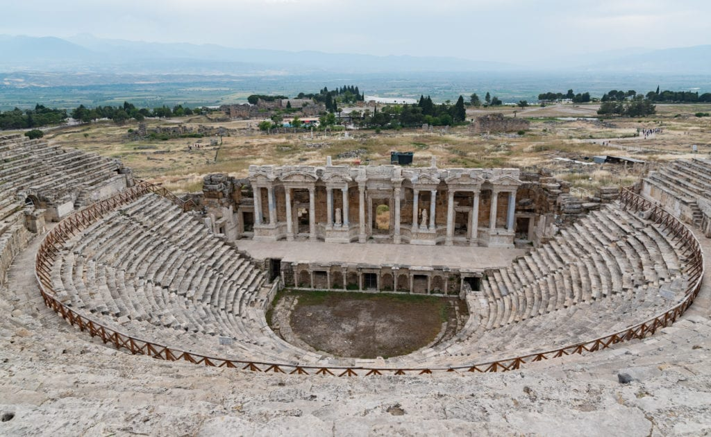 image of the Hierapolis Theatre