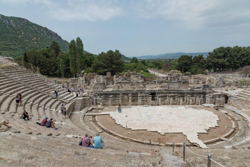image of the Theater of Ephesus