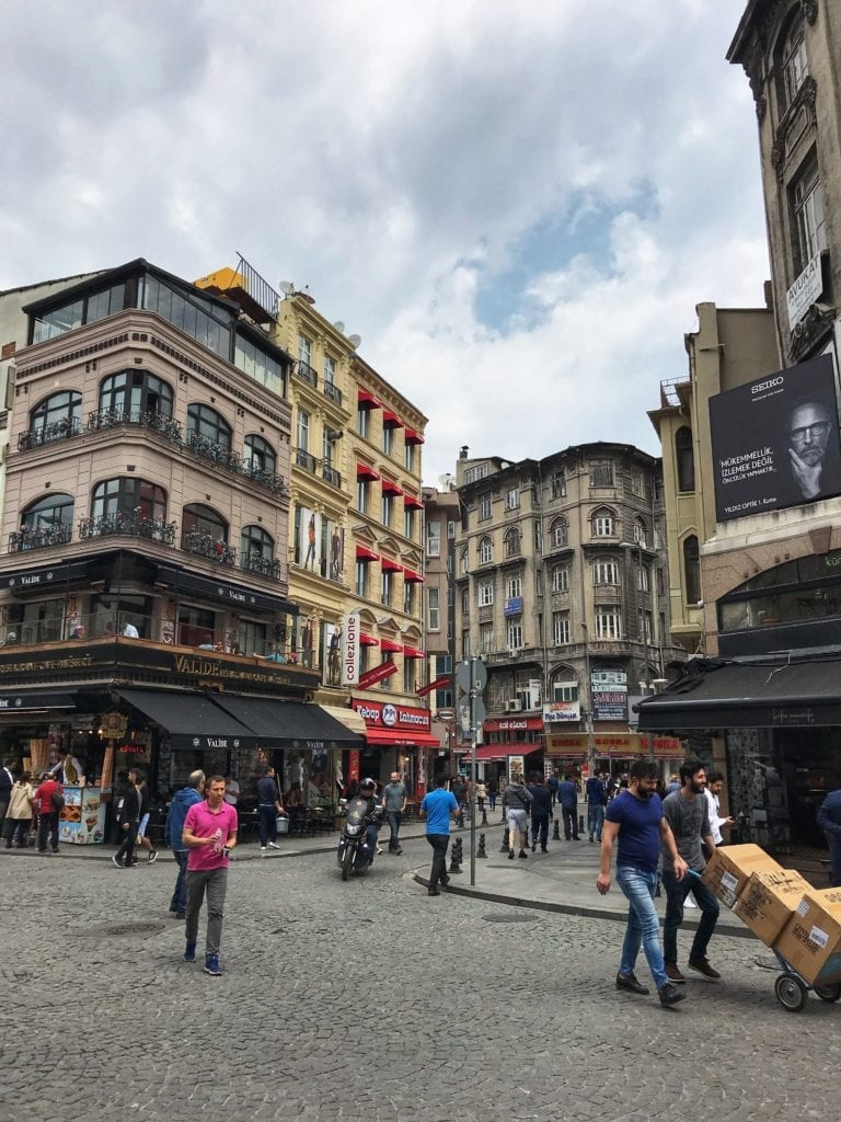 image of streets of Istanbul
