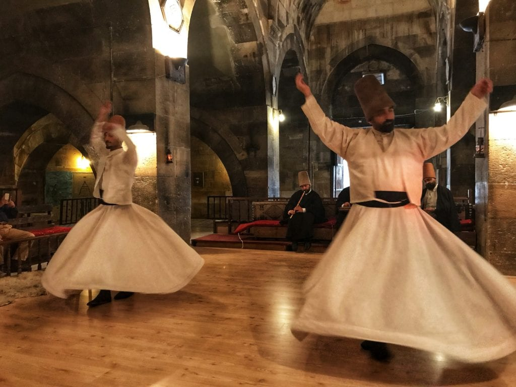 image of whirling dervishes
