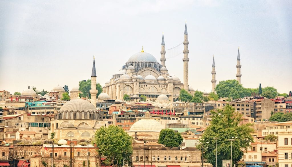 image of the Blue Mosque in Turkey
