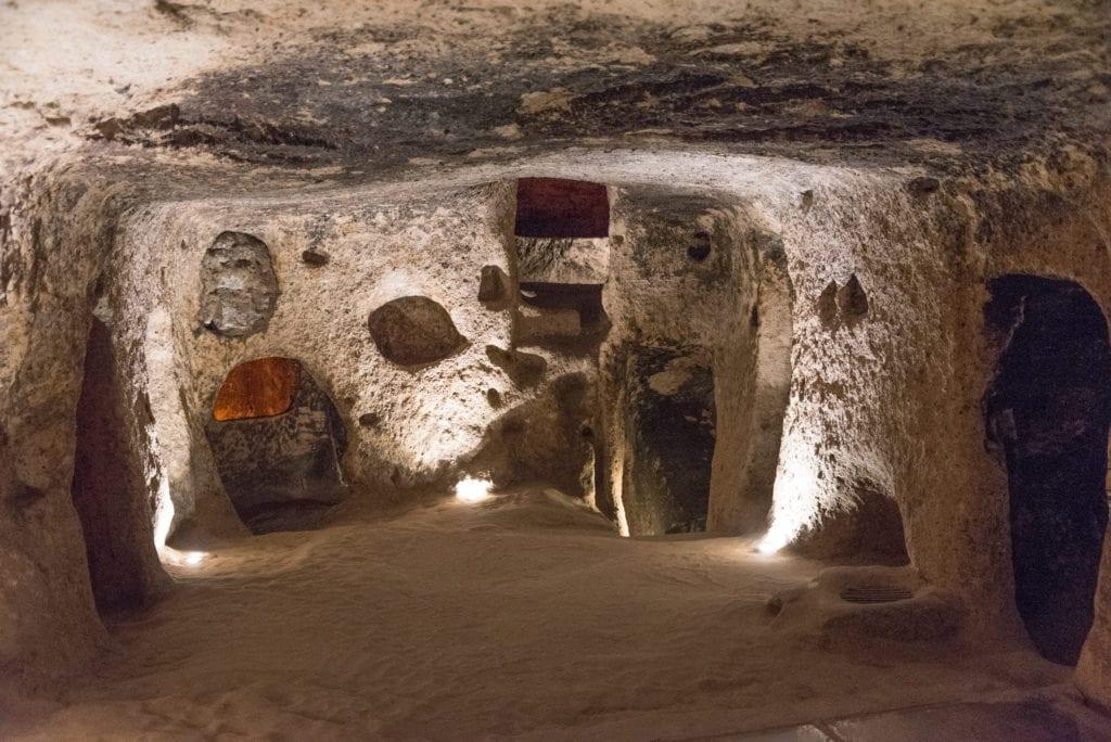 image of underground city of Kaymakli