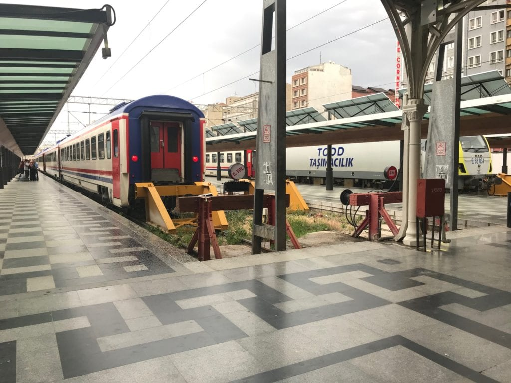 image of a train station